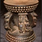 Dogon stool - African Art - L
