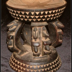 Dogon stool – African Art – L