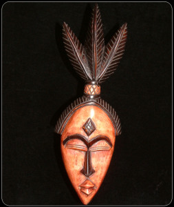 Leaf Headdress mask