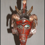 Mali bird mask - African masks