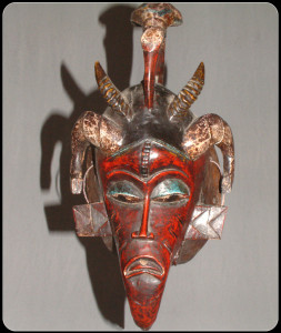 Mali bird mask – African masks