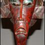 Mali bird mask L bottom – African masks