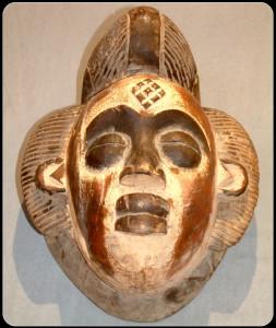 Punu mask – African Art – L