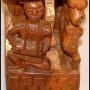 Yoruba Statue closeup of child large