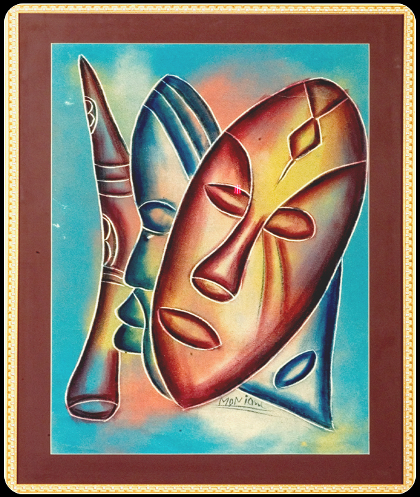 African painting masks framed sand painting grains of africa sand painting large sciox Image collections