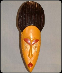 yellow fanti mask large