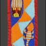 yoruba belt closeup