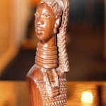 Benin Ebony Wood Sculpture