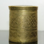 Nupe Bada Brass Receptacle