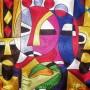 African Thread Art
